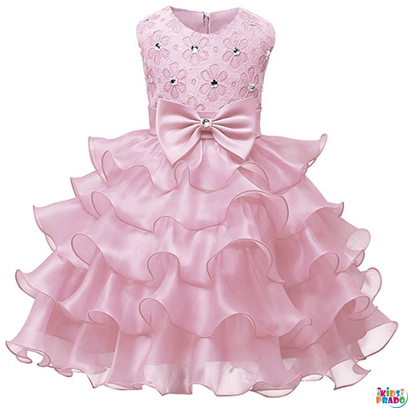 NNJXD Girl Dress Kids Ruffles Lace Party Wedding functional special occasion birthday party Dresses, فساتين حفلات الزفاف