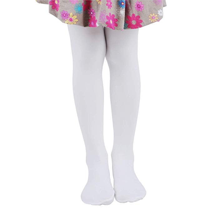 Leg Elegant Girls Semi Opaque Tights 17 Colors, Girls Microfiber Tights