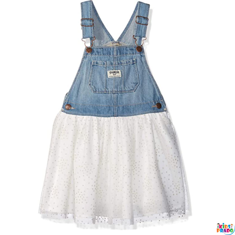 Kid Clothes OshKosh B'Gosh Girls' Toddler World's Best Overalls Party Wears