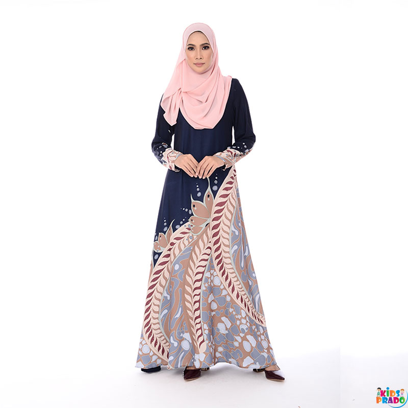 Muslim Dresses Print Soft Fabric Women Islamic Clothing With Hijab Kebaya Kimono For Malaysia Abaya