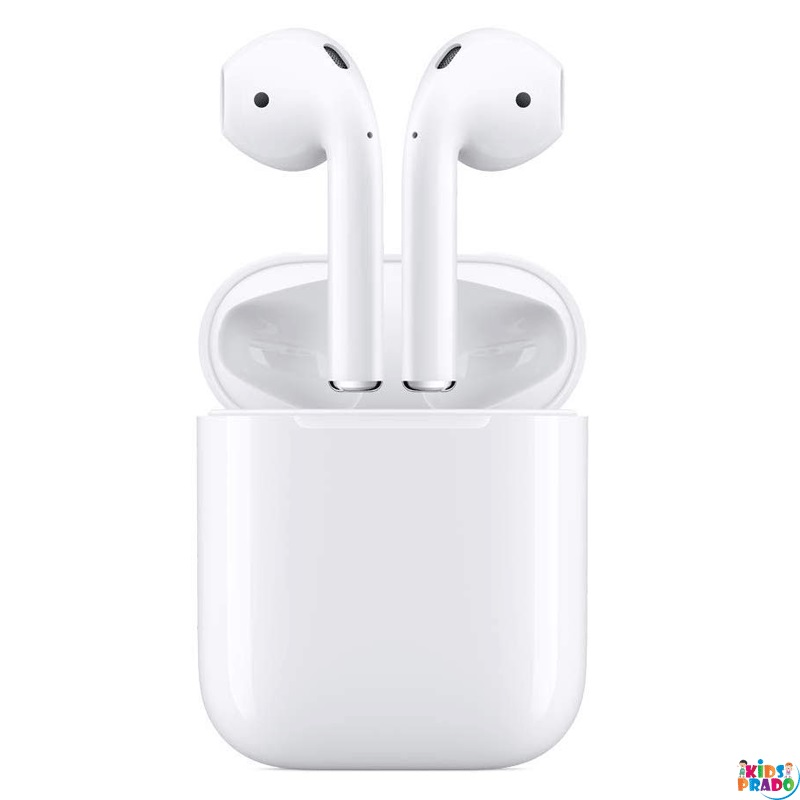 Apple AirPods with Wireless Charging Case, Wireless Airpods generation 2, اياربود اللاسلكية