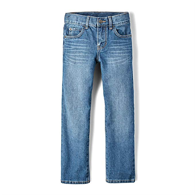 Jeans for Kids, The Children's Place Big Boys' Straight Leg Jeans, جينز للاطفال, बच्चों के लिए जीन्स, കുട്ടികൾക്കുള്ള ജീൻസ്