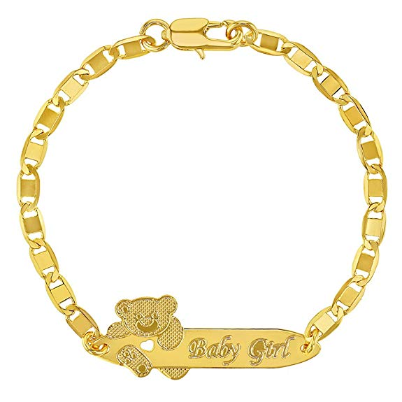 18k Gold Plated Teddy Bear Tag ID Identification Bracelet, Bracelet, Gold Plated Ornaments, Teddy Bear Bracelet, Tiara Swiss Cubic Zirconia 18K Gold Plated Diamond Strand Bracelet, Shining Diva Fashion Latest Design 18k Rose Gold Stylish Bracelet, Yellow Chimes Flowerets 18K Rose Gold Plated Sparkling Ring, سوار مطلي بالذهب عيار 18, 18K सोना चढ़ाया हुआ कंगन, 18K سونے سے چڑھایا کڑا, 18 കാരറ്റ് സ്വർണ്ണം പൂശിയ ബ്രേസ്ലെറ്റ്  |  Kidsprado