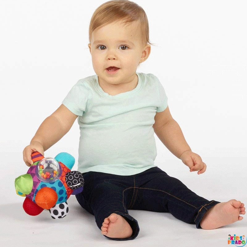 Sassy Developmental Bumpy Ball, Teether Toy Set, Easy to Grasp Bumps Help Develop Motor Skills, New Born baby Toys, Newborn Baby Toys, Brain Stimulating Toys,  Activity Toys, IQ improving Toys, كرة وعرة, لعبة عضاضة, तीतर का खेल, अजन्मे बच्चों के लिए खिलौने, غیر پیدائشی بچوں کے لئے کھلونے, പിഞ്ചു കുഞ്ഞുങ്ങൾക്കുള്ള കളിപ്പാട്ടങ്ങൾ, ألعاب للأطفال الرضع   | Kidsprado