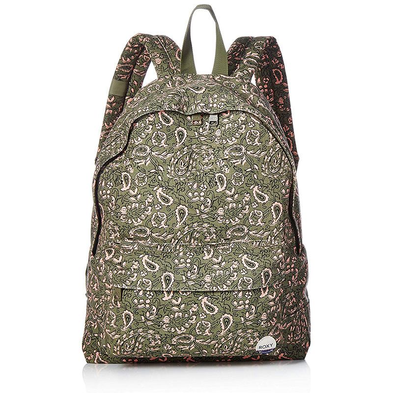 Women's Sugar Baby Canvas Printed Backpack