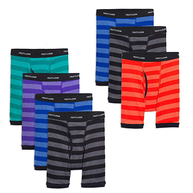 Fruit of the Loom boys Boxer Assorted