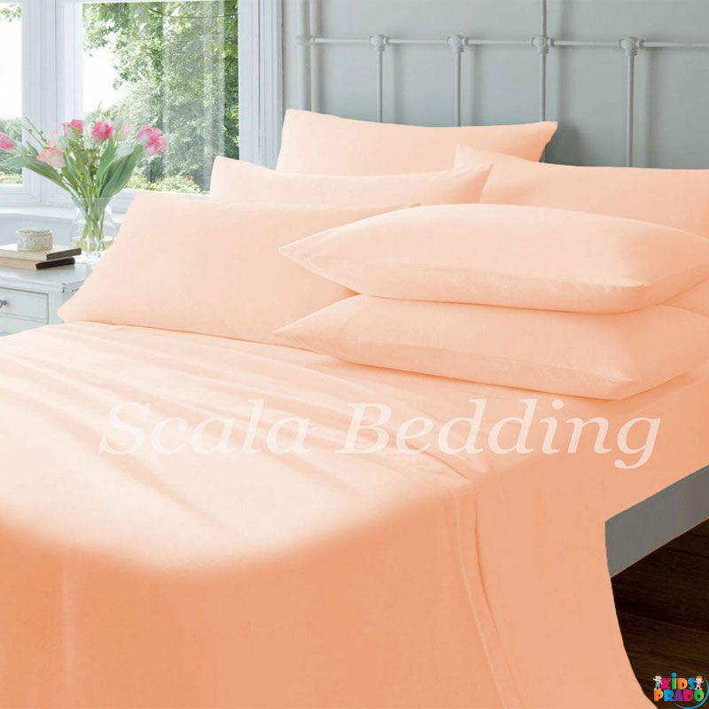 100 PERCENT EGYPTIAN COTTON SUPER QUALITY 800 THREAD COUNT BED SHEET SET CAL-KING SIZE, PURE COTTON BEDSHEET