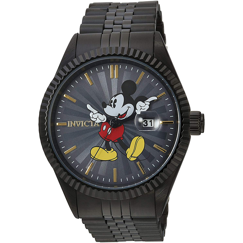 Disney Limited Edition' Quartz Stainless Steel Casual Watch