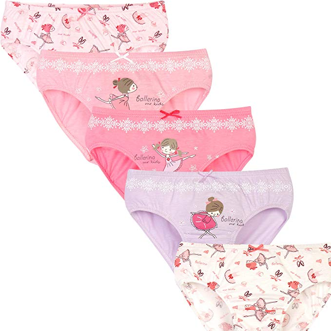 Toddler Baby Girl's Underwear (Pack of 5)