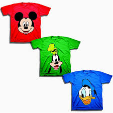 Disney Baby Boys' Toddler Mickey, Goofy, Donald 3-Pack T-Shirts