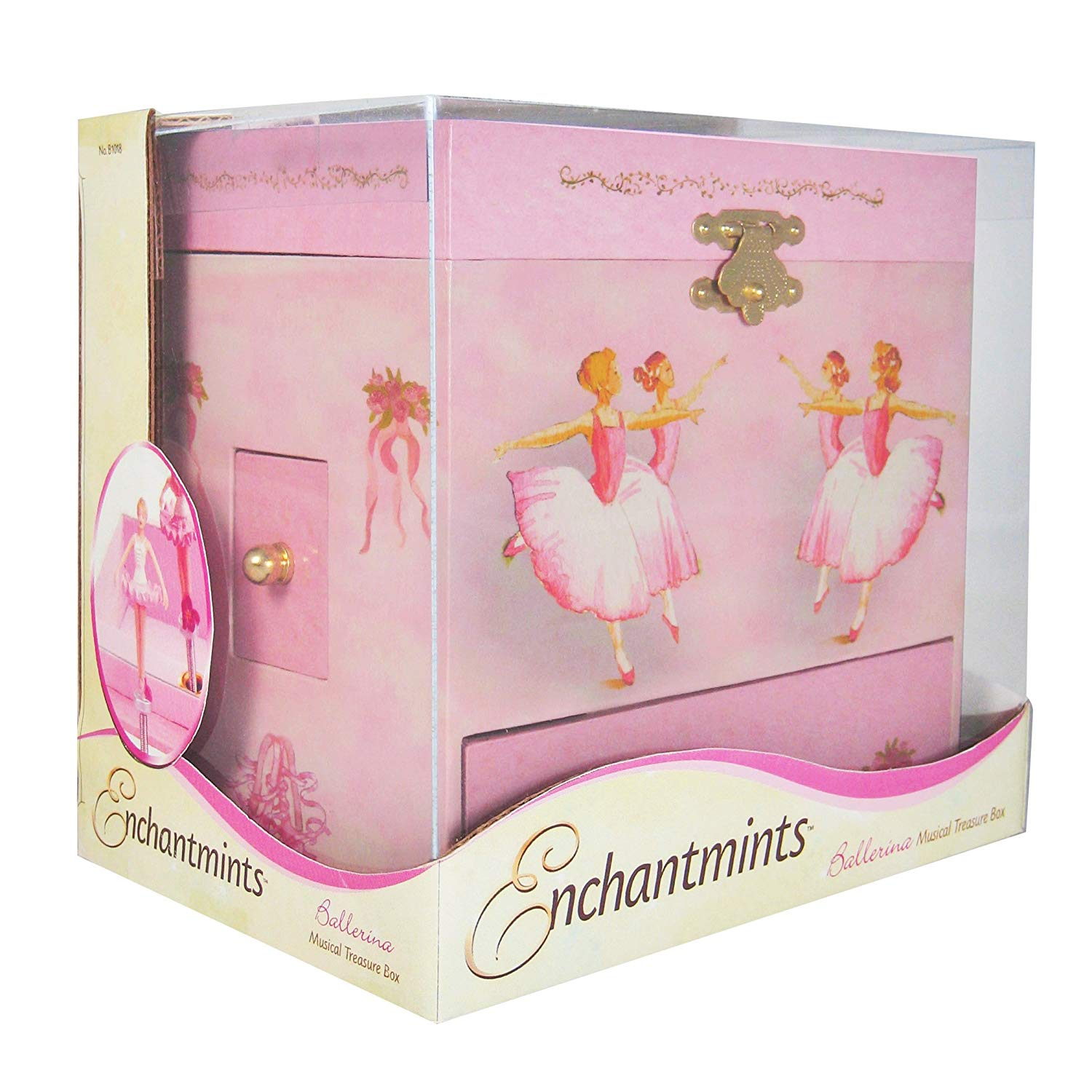 Enchantmints Ballerina Musical Jewelry Box