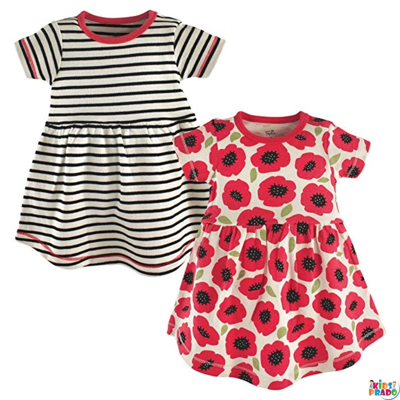 Organic Cotton Dresses for Babies, Cotton Dress, New Born Baby Cotton Clothes,  الملابس العضوية للأطفال