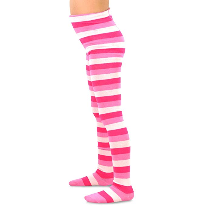 TeeHee (Naartjie) Kids Girls Fashion Cotton Tights 3 Pair Pack