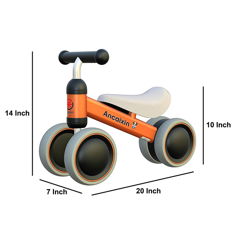 Orange Baby Balance Bikes Bicycle
