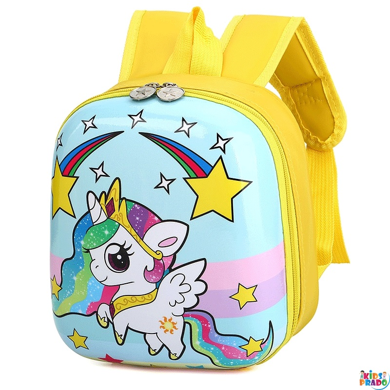 Kid's Backpack Cartoon Pattern Adorable Large Capacity College Level Bag,  حقيبة مدرسية على ظهره