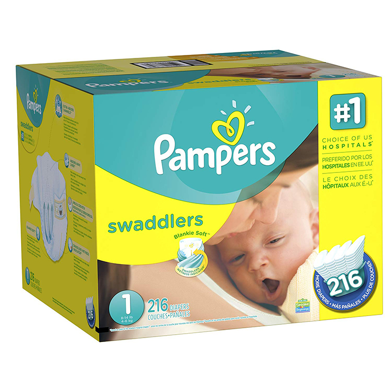 Pampers Swaddlers Diapers, حفاضات, حفاضات بامبرز