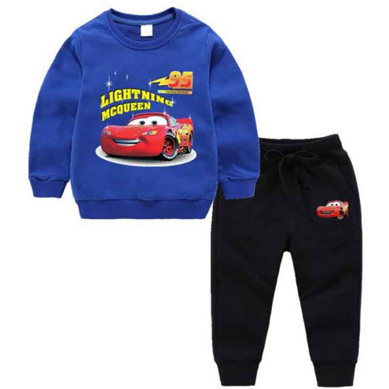HadiaKids Lightning Mcqueen Suit For Boys