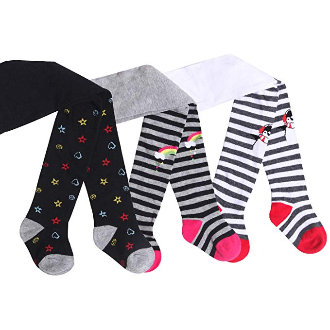 IMOZY Autumn Winter Girls Tights for Newborns Infants Toddler Baby Kids